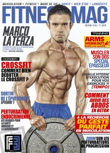 fitness mag cover